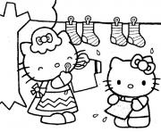 Coloriage dessin hello kitty 97