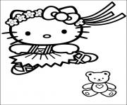 Coloriage dessin hello kitty 286