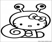 Coloriage dessin hello kitty 40