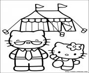 dessin hello kitty 250 dessin à colorier
