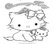 Coloriage dessin hello kitty 127