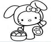 Coloriage dessin hello kitty 293