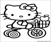 Coloriage dessin hello kitty 76