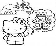 dessin hello kitty 120 dessin à colorier