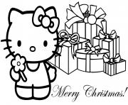 Coloriage dessin hello kitty 276 dessin