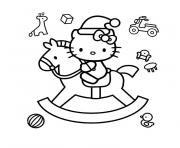 Coloriage dessin hello kitty 121