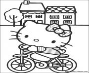 Coloriage dessin hello kitty 13
