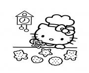 Coloriage dessin hello kitty 172