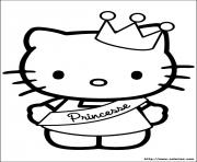 Coloriage dessin hello kitty 177