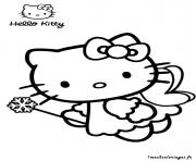 Coloriage dessin hello kitty 228