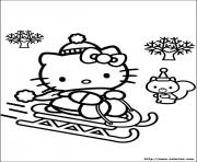 Coloriage dessin hello kitty 82