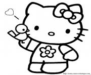 Coloriage dessin hello kitty 8 dessin