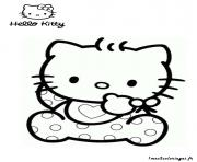 Coloriage dessin hello kitty 92 dessin