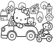 Coloriage dessin hello kitty 36