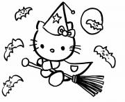 Coloriage dessin hello kitty 90