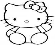 Coloriage dessin hello kitty 45