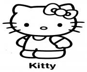 Coloriage dessin hello kitty 75