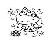 Coloriage dessin hello kitty 99 dessin