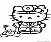 Coloriage dessin hello kitty 30