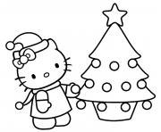 Coloriage dessin hello kitty 170