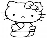 Coloriage dessin hello kitty 133 dessin