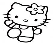 Coloriage dessin hello kitty 15