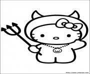 Coloriage dessin hello kitty 179