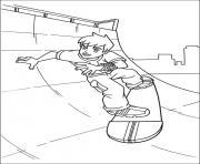 dessin ben 10 41 dessin à colorier