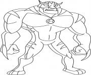 dessin ben 10 20 dessin à colorier
