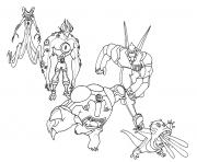 dessin ben 10 135 dessin à colorier