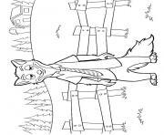 zootopie dessin nick wilde dessin à colorier