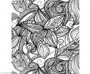 Coloriage anti stress adulte 83