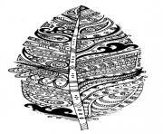plume difficile dessin adulte dessin à colorier