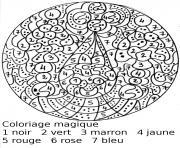 magique 78 dessin à colorier