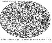 magique 113 dessin à colorier