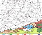 magique 1 dessin à colorier
