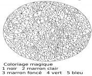 magique 31 dessin à colorier