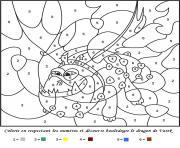 magique 42 dessin à colorier
