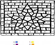 magique 66 dessin à colorier