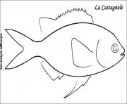 poisson 179 dessin à colorier