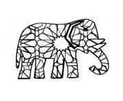 elmer l elephant bariole dessin à colorier