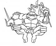 tortue ninja 120 dessin à colorier