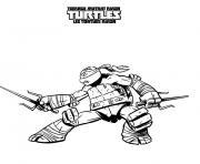 tortue ninja 16 dessin à colorier