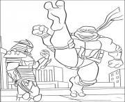tortue ninja 48 dessin à colorier