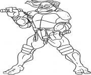 tortue ninja 190 dessin à colorier
