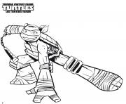 Coloriage Tortues Ninja 014 dessin