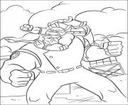 Coloriage tortue ninja 192