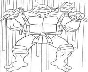 Coloriage tortue ninja 118 dessin