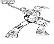Coloriage tortue ninja 10