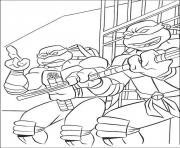 Coloriage tortue ninja 87